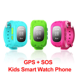 Smart Wristwatch for kids GPS Locator Tracker for IOS and Android