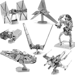 3D STAR WARS Metal Puzzle