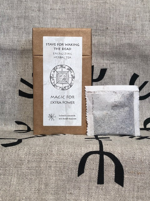 Stave for waking the dead - energizing herbal tea