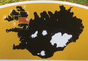 HIKING MAP 6 - Reykhólar and the center part of Strandir
