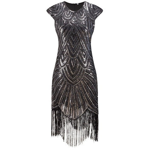 Great Gatsby Flapper Vintage 1920s Party Cocktail Dress