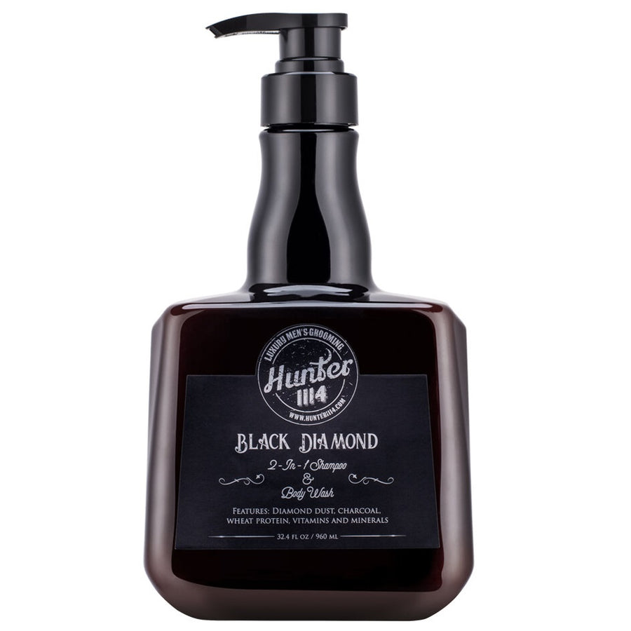 Hunter 1114 - Black Diamond  2 in 1 Shampoo and Body Wash