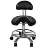Hydraulic Saddle Stool (Saddle with Backrest)