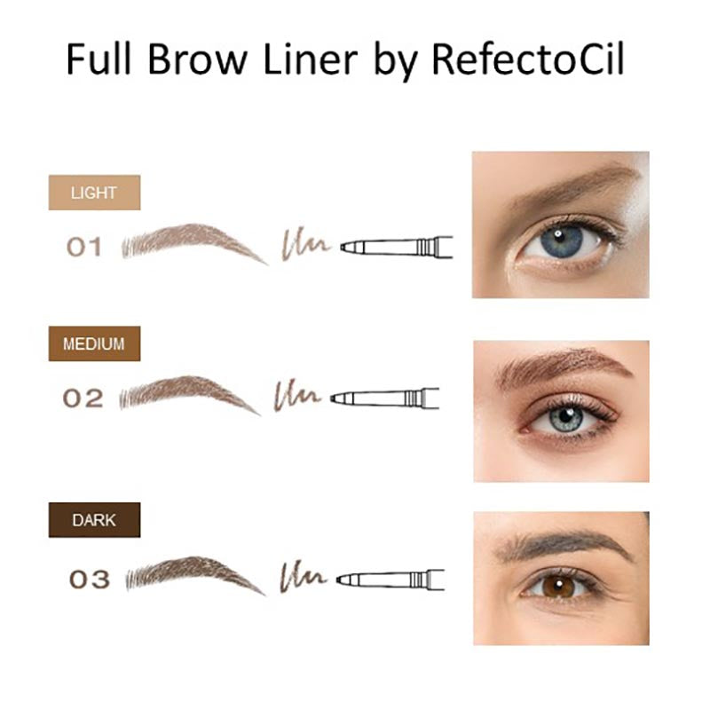 RefectoCil Full Brow Liner Pencil - SALE 15% OFF