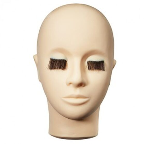 Mannequin Head (with lashes)