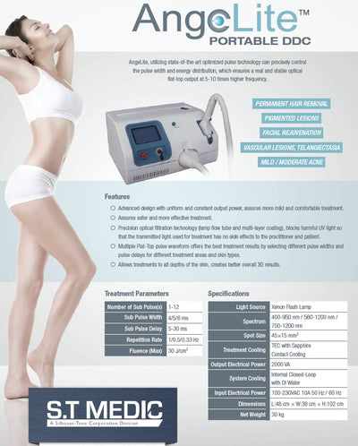 Silhouet Tone AngeLite Portable DDC (IPL) System