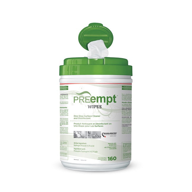 PREempt RTU Wipes ** LIMIT 1 PER CUSTOMER /  WEEK ** - FREE FACE SHIELD (JAN/FEB)
