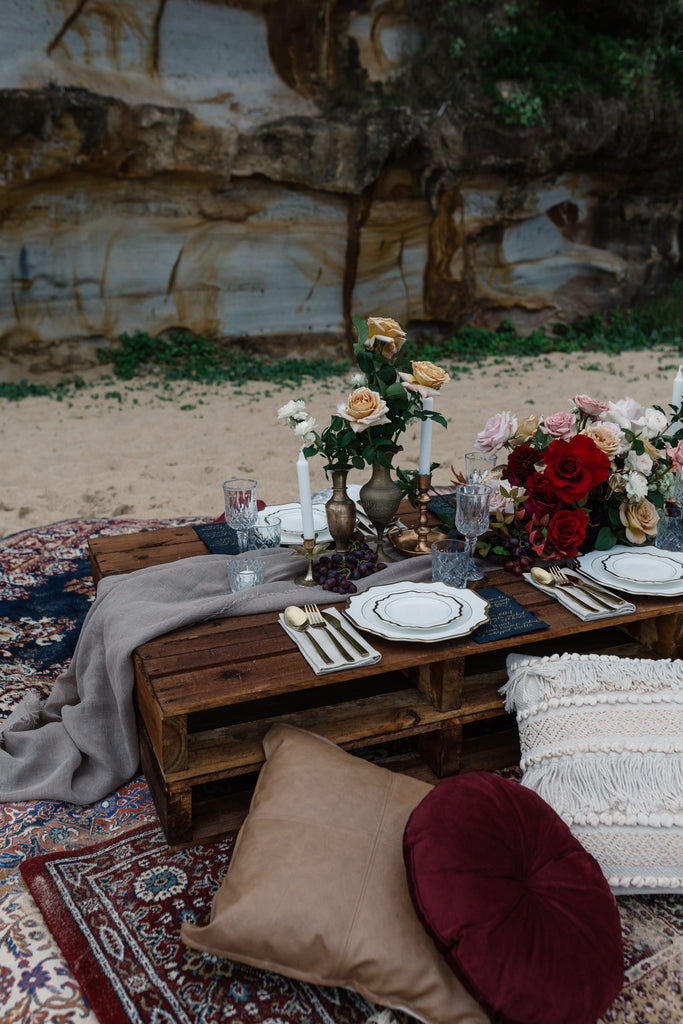 Ocean Gypsy Table Setting