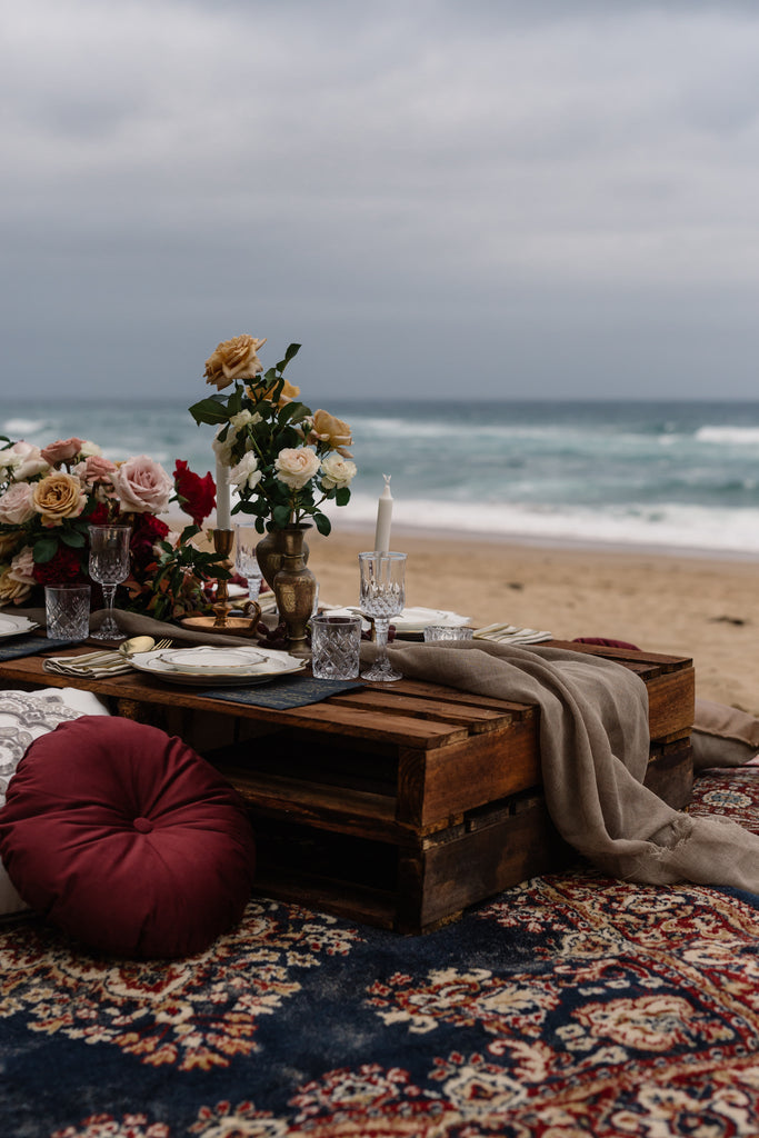Ocean Gypsy Tablescape