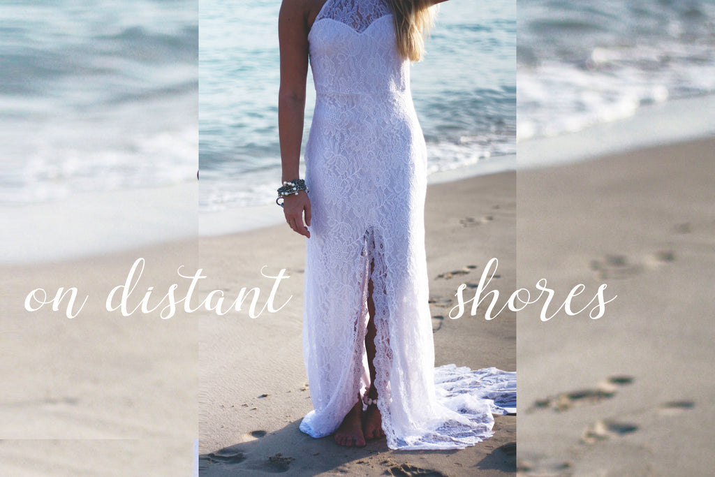 On Distant Shores Boho Wedding Dresses