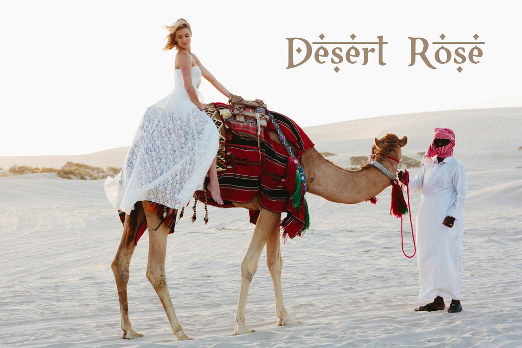 Desert Rose Boho Wedding Dresses