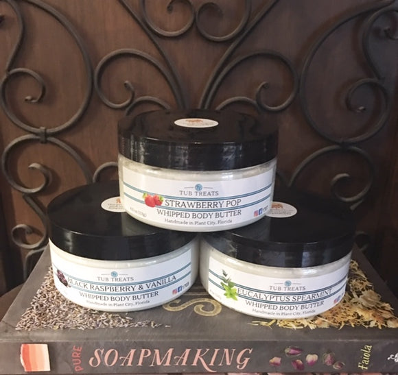 Whipped Body Butter -Available In Store Only