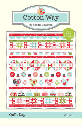 Quilt Day Pattern - Cotton Way - CW-1021G