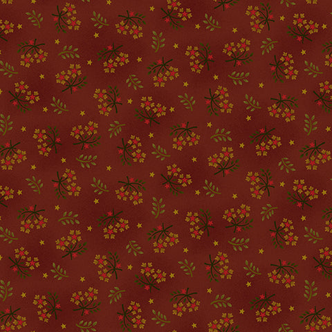 Wit And Wisdom - Kim Diehl - Floral Sprays - 1419-88 - Fabric is sold in 1/2 yard increments