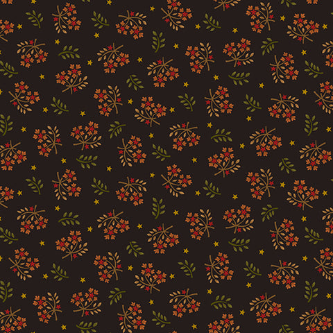 Wit And Wisdom - Kim Diehl - Floral Sprays - 1419-99 - Fabric is sold in 1/2 yard increments