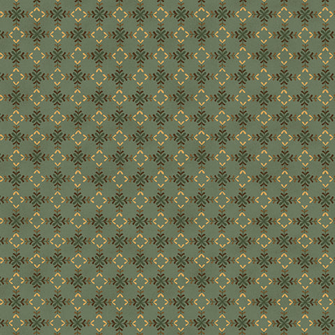 Wit And Wisdom - Kim Diehl - Diamond Blossoms - 1420-11 - Fabric is sold in 1/2 yard increments