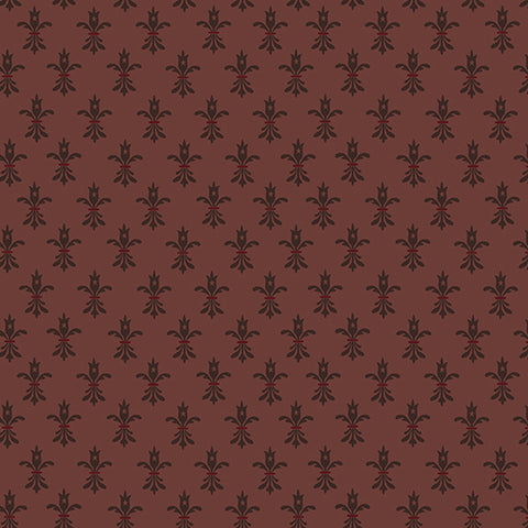 Wit And Wisdom - Kim Diehl - Fleur De Lis - 1424-55 - Fabric is sold in 1/2 yard increments