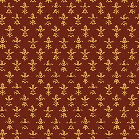 Wit And Wisdom - Kim Diehl - Fleur De Lis - 1424-88 - Fabric is sold in 1/2 yard increments