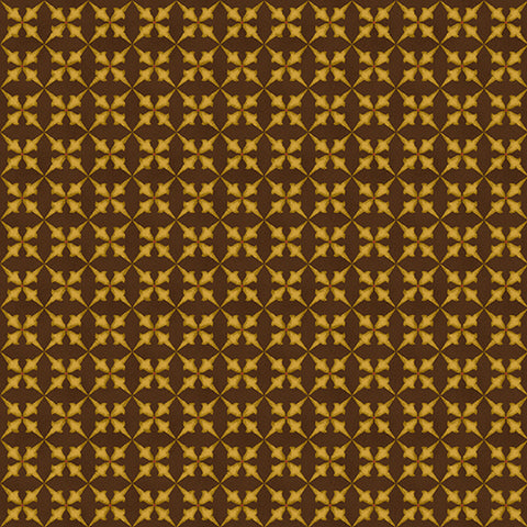 Wit And Wisdom - Kim Diehl - Trumpet Flower - 1427-33 - Fabric is sold in 1/2 yard increments