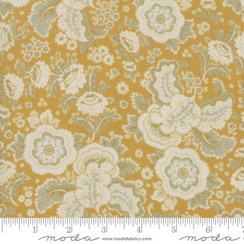 Regency Sussex - Christopher Wilson Tate - Chilchester - Sudbury Yellow - 42331-14 - Fabric is sold in 1/2 yard increments