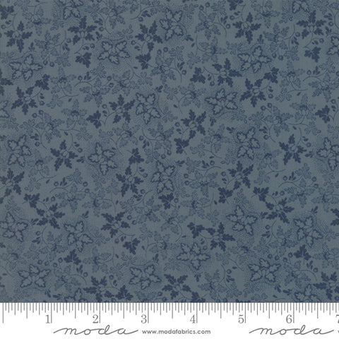 Regency Sussex - Christopher Wilson Tate - Wadhurst - Stiffkey Blue - 42337-18 - Fabric is sold in 1/2 yard increments