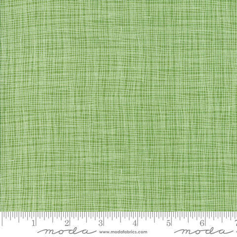Day In Paris - Zen Chic - Grid - Grass - 1686-14 - Fabric is sold in 1/2 yard increments
