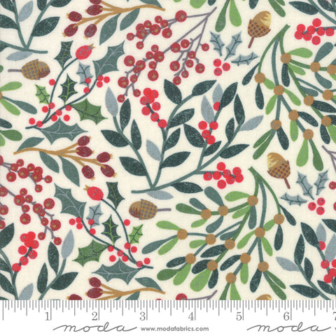 Kringle Claus - Basic Grey - Fesstival - Snow - 30590-11 - Fabric is sold in 1/2 yard increments