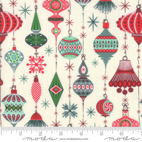 Kringle Claus - Basic Grey - Deck The Halls - Snow - 30591-11 - Fabric is sold in 1/2 yard increments