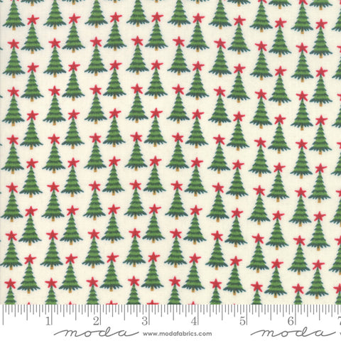 Kringle Claus - Basic Grey - Pine Valley - Snow - 30596-11 - Fabric is sold in 1/2 yard increments