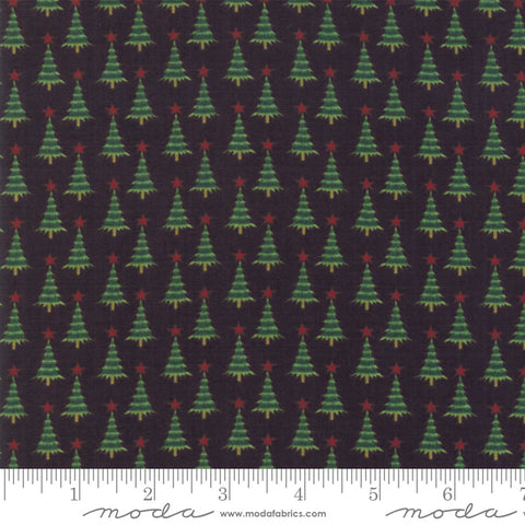 Kringle Claus - Basic Grey - Pine Valley - Coal - 30596-12 - Fabric is sold in 1/2 yard increments
