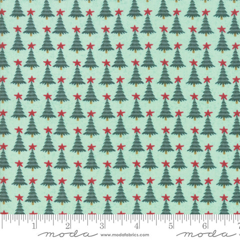 Kringle Claus - Basic Grey - Pine Valley - Frosty - 30596-18 - Fabric is sold in 1/2 yard increments