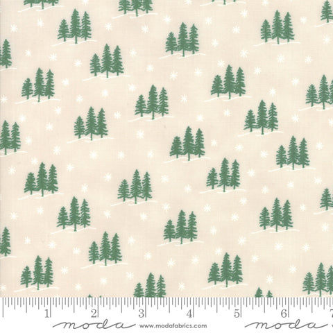 Holiday Lodge - Deb Strain - Winter - Winter White - 19895-15 - Fabric is sold in 1/2 yard increments