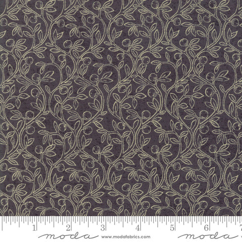Home - Kathy Schmitz - Fruitful Vines - Slate - 7012-11 - Fabric is sold in 1/2 yard increments