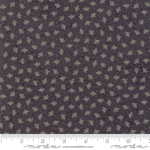 Home - Kathy Schmitz - Falling Leaves - Slate - 7014-11 - Fabric is sold in 1/2 yard increments