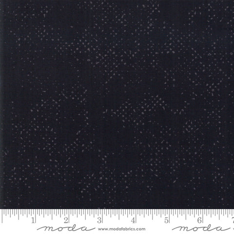 Spotted - Zen Chic - Jet Black - 1660-90 - Fabric is sold in 1/2 yard increments