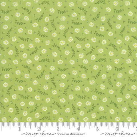 Harpers Garden - Sherri & Chelsi - Blooms - Lime - 37574-15 - Fabric is sold in 1/2 yard increments