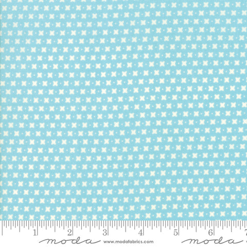 Harpers Garden - Sherri & Chelsi - Criss Cross - Aqua - 37576-23 - Fabric is sold in 1/2 yard increments