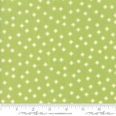 Harpers Garden - Sherri & Chelsi - Diamonds - Lime - 37577-15 - Fabric is sold in 1/2 yard increments