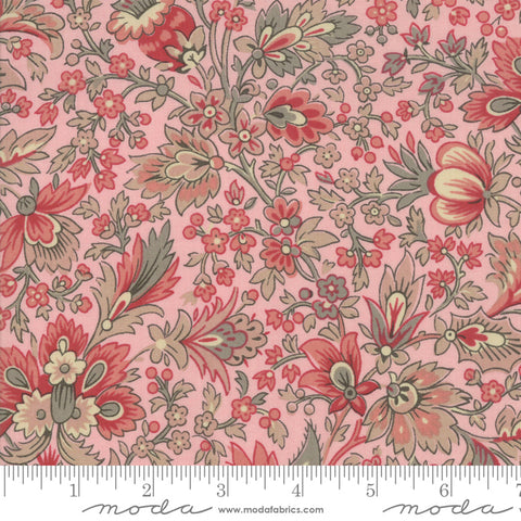 Chafarcani - French General - Pale Rose - 13860-14 - Fabric is sold in 1/2 yard increments