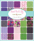 Sweet Pea Lily Charm Pack - Robin Pickens - 48640PP