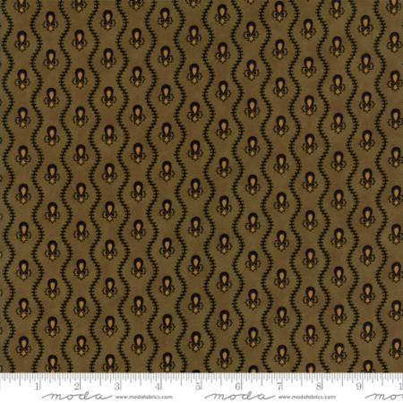 New Hope - Pine Green Wavy Stripe - Jo Morton - 38037-16