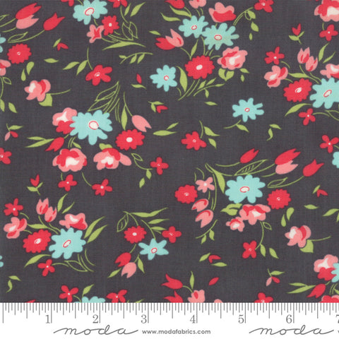 Little Snippets - Bonnie & Camille - Fresh Cut - Grey - 55182-16 - Fabric is sold in 1/2 yard increments