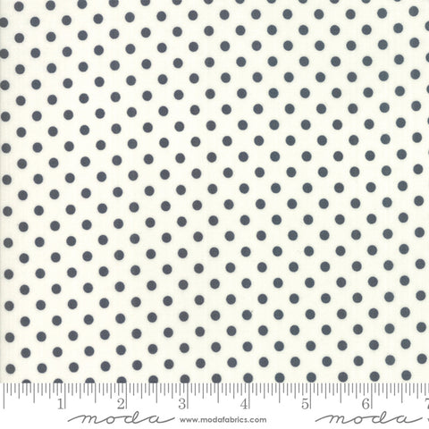 Little Snippets - Bonnie & Camille - Dot - Grey - 55185-26 - Fabric is sold in 1/2 yard increments