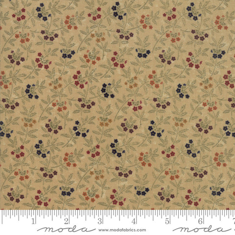 On Meadowlark Pond - Kansas Trouble  - Dogwood - 9592-11 - Fabric is sold in 1/2 yard increments