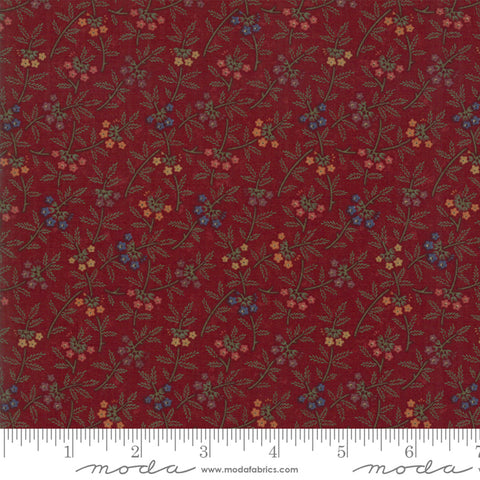 On Meadowlark Pond - Kansas Trouble - Dogwood - 9592-13 - Fabric is sold in 1/2 yard increments