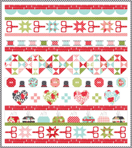 Little Snippets Quilt Kit - Quilt Day - Bonnie & Camille - KIT55180