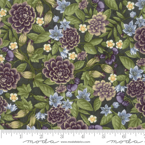 Fresh Off The Vine - Holly Taylor - Floral - Zucchini - 6761-13 - Fabric is sold in 1/2 yard increments