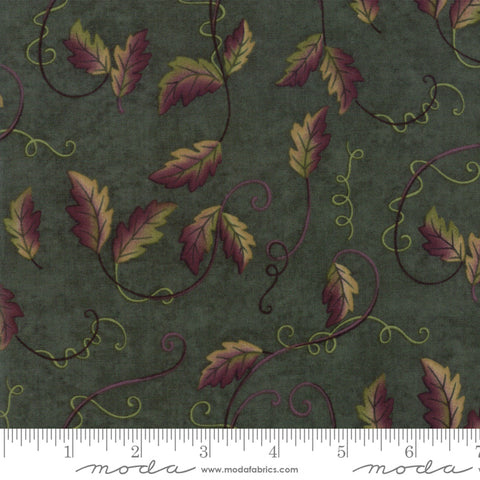 Fresh Off The Vine - Holly Taylor - Leaves and Vines -Zucchini - 6764-13 - Fabric is sold in 1/2 yard increments