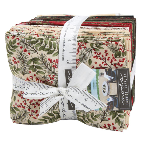 Winter Manor Fat Quarter Bundle - Holly Taylor - 6770AB
