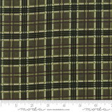 Winter Manor - Holly Taylor - Plaid - Pine - 6776-13 - Fabric is sold in 1/2 yard increments